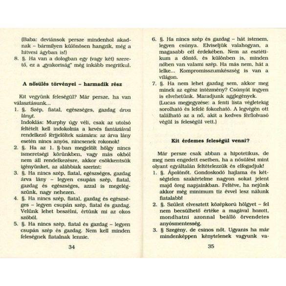 Murphy nősülési törvénykönyve
