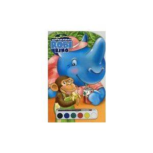 Robi rinó - kifestő