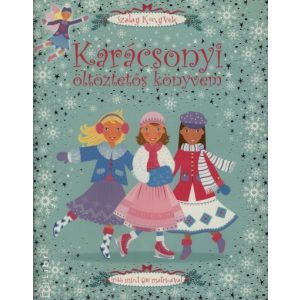 Karácsonyi öltöztetős könyvem