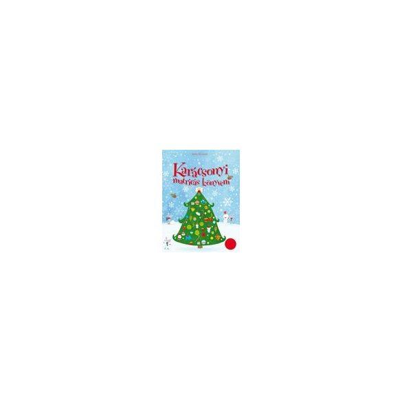 Karácsonyi matricás könyvem