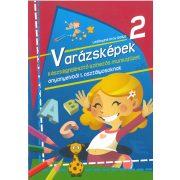 Varázsképek 2. Készségfejlesztő színezős munkafüzet anyanyelvből 1. osztályosoknak