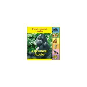 Olvasok, számolok, tanulok - A dzsungel állatai