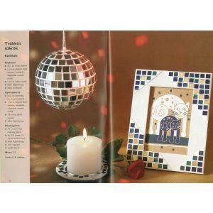 Dísztárgyak és ajándékok mozaikból