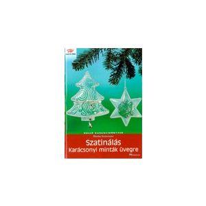 Szatinálás - Karácsonyi minták üvegre