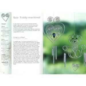 Szélcsengők üvegmatricából és drótból
