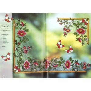 Virágvarázslat üvegfestéssel