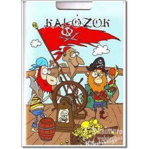 Kalózok - kifestőkönyv kalandos kalózversikével