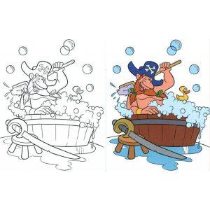 Színezz kalózokat (kék)
