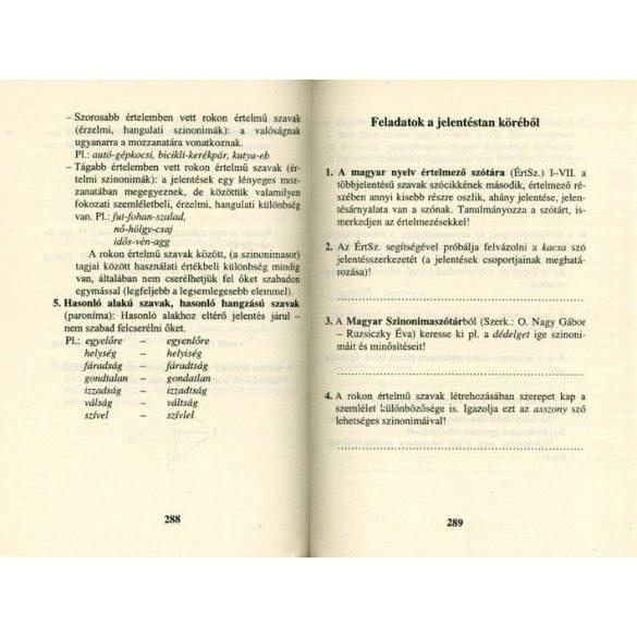 Érettségi magyar nyelvből