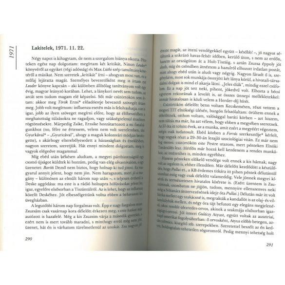Napló 3. 1967-1977 -  Egy magyar politikus és tudós vallomása arról,miként szolgálta ki a 20. század értelmiségei elitje a politikai hatalmakat.