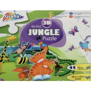 My first jungle puzzle 3D