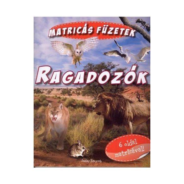 Matricás füzetek - Ragadozók