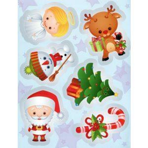 Réni karácsonyi holmijai