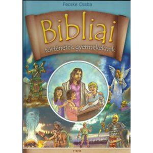 Bibliai történetek gyermekeknek  szállítási sarok sérült, matricás utolsó darabok