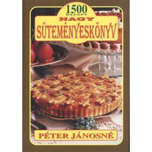 Nagy süteményeskönyv  / antikvát állapot /  közel 1500 db recepttel  Péter Jánosné