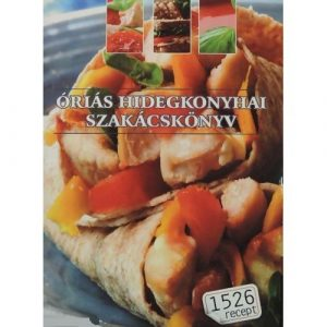 Óriás hidegkonyhai szakácskönyv