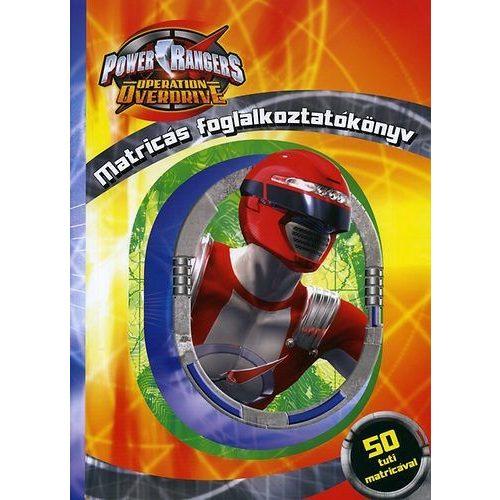 Power Rangers - Matricás foglalkoztatókönyv