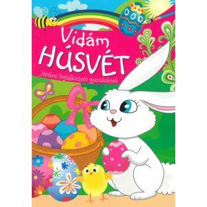 Vidám húsvét - Játékos foglalkoztató gyerekeknek