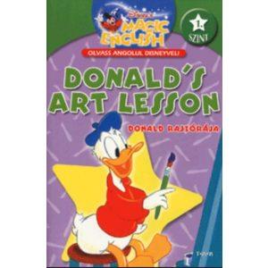 Olvass angolul - Donald rajzórája