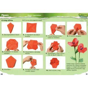 Origami virágok