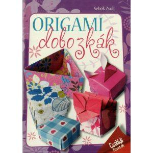 Origami dobozkák