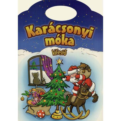 Karácsonyi móka - kifestő