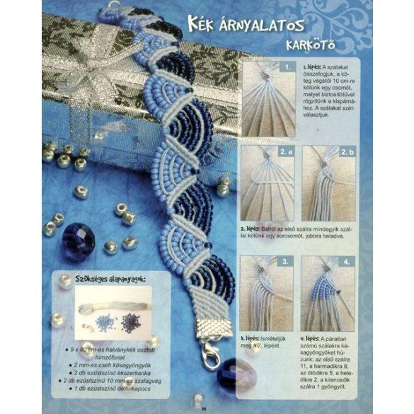 Divatos makramé ékszerek  -  fülbevalók  -  karkötők  -    nyakláncok     Katona Brigitta