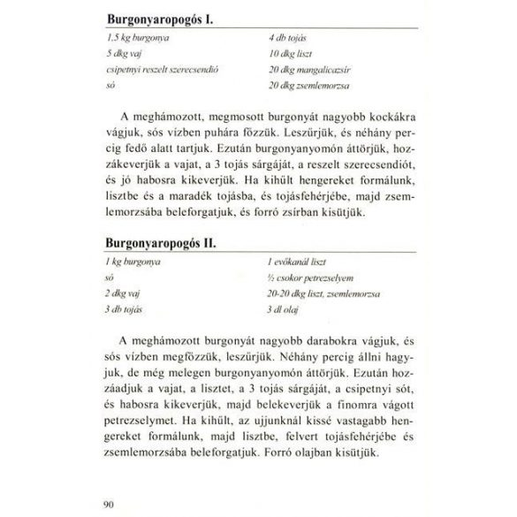 Ica néni receptjei - Sertéshúsból készült ételek és köretek