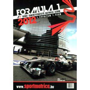 Formula 1 - Matricás album és matrica