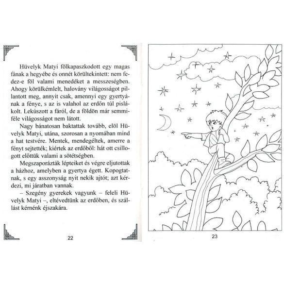 Hüvelyk Matyi - Olvasó- és színezőkönyv