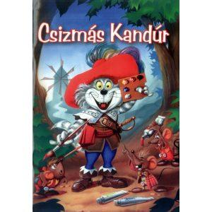 Csizmás Kandúr - Olvasó- és színezőkönyv