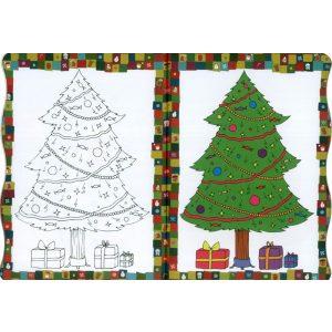 Hóemberke karácsonyi kifestője