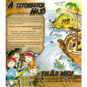 Kincskereső kalandok - mesekönyv labirintusokkal