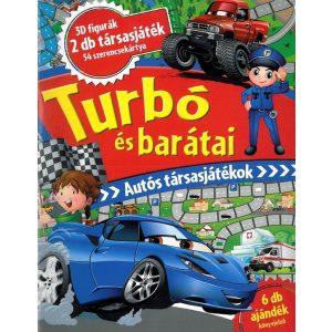 Turbó és barátai - Autós társasjátékok