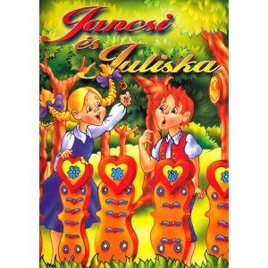 Jancsi és Juliska mesés kifestő
