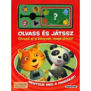 Olvass és játssz - Mentsük meg a pandákat!