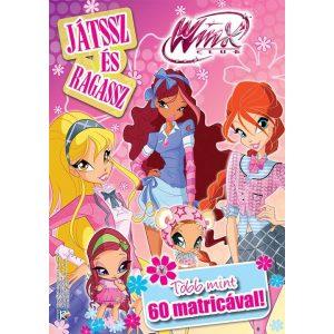 Winx - Játssz és ragassz több mint 60 matricával