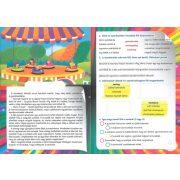 Szövegértési feladatok - A vidámparkban matricákkal
