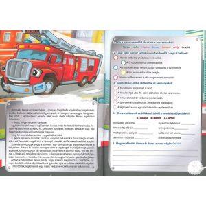 Szövegértési feladatok - Járművekkel matricákkal