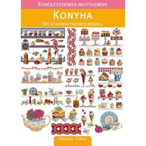 Keresztszemes motívumok - Konyha