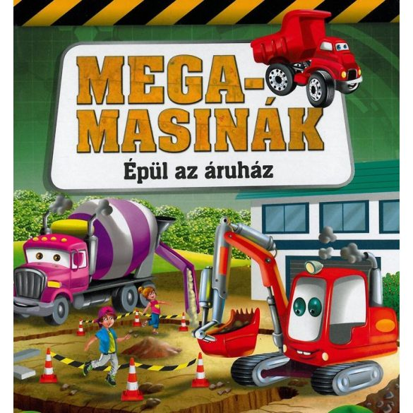 Megamasinák - Épül az áruház