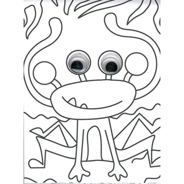 Mozgó szemek - Szörnyecskék