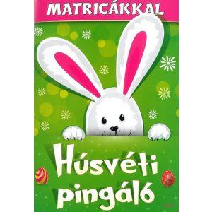 Húsvéti pingáló matricákkal