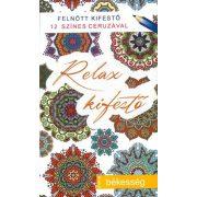 Relax kifestő: Békesség 12 ceruzával