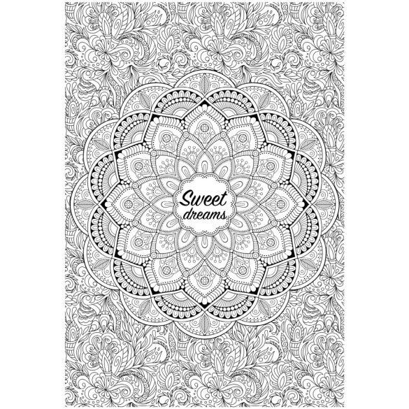 Óriás felnőtt színező (70x100cm) : Sweet Dream