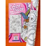 Óriás felnőtt színező (70x100cm) : Kolibri