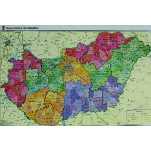 Szemléltető: Magyarország közigazgatása