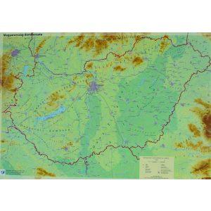 Szemléltető: Magyarország domborzata