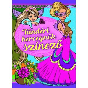 Tündéri hercegnők színező