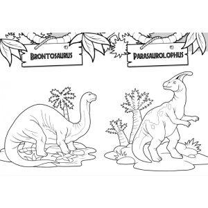 Dinoszauruszok kifestője-Vigyázz! Dínóveszély